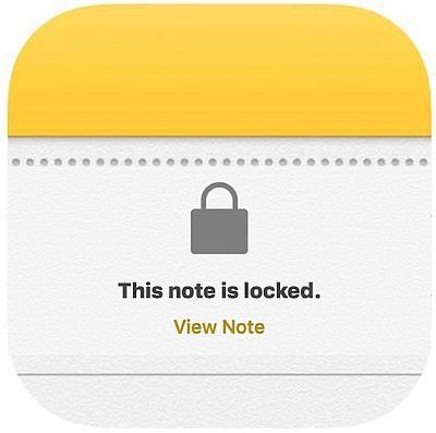 Установка пароля на заметки в iPhone с iOS 10